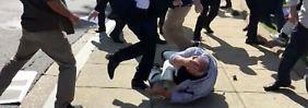 Reaktion auf Prügelattacke: USA: Keine Waffen für Erdogan-Bodyguards