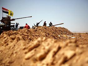 Die libanesische Hisbollah und die syrische Armee kämpfen Seite an Seite.