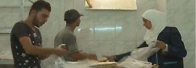 Rückkehr in zerstörte Stadt: Bäckerei in Homs verkauft wieder Brot