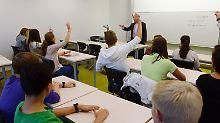 Der Druck steckt schon im Ranzen: Jeder vierte Schüler fühlt sich überfordert