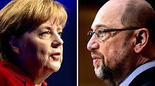 Das große TV-Duell: Kann Merkel auch Nahkampf?