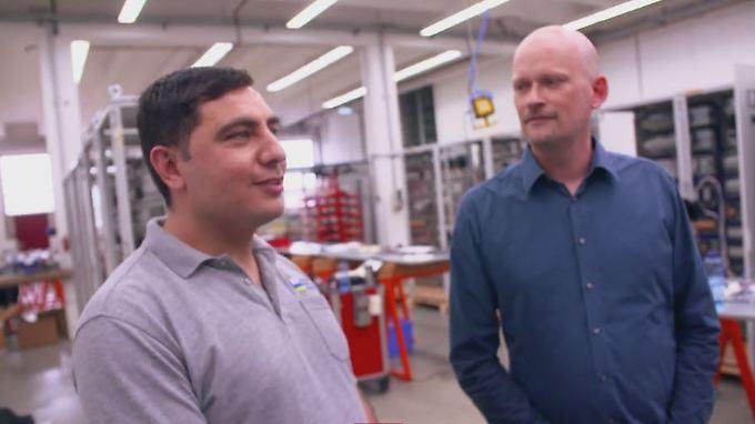 NAH DRAN!! - Ihre Geschichte bei n-tv: Wie Flüchtlinge das Arbeitsleben in Deutschland bereichern
