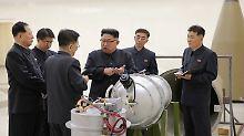 Nordkorea nennt Test erfolgreich: Kim lässt Wasserstoffbombe zünden
