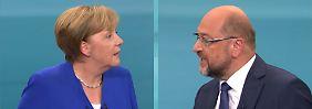 Kommentar zum TV-Duell: Der Tag, an dem Schulz endgültig verlor