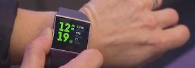 Smartwatches top, Fitnesstracker flop: Firmen kämpfen um den Wearables-Thron