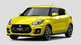 Suzuki Swift Sport: Heißsporn mit Turbo und 140 PS.
