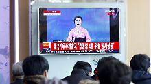 """Legendäres Gesicht Nordkoreas: Wenn die """"Pink Lady"""" über Bomben spricht"""