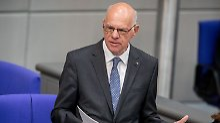 Abschied als Bundestagspräsident: Gerührter Lammert rügt sein Parlament