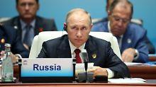 """Streit um Nordkoreas Atomwaffen: Putin warnt vor """"militärischer Hysterie"""""""