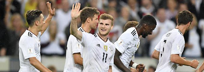 Huhu: Werner und seine Kollegen stehen auf Platz eins.