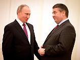 Blauhelmsoldaten im Krisengebiet: Gabriel lobt Putins Ostukraine-Plan