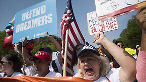 800.000 von Abschiebung bedroht: Trump kippt Schutzprogramm für Migrantenkinder