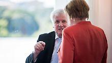 CSU-Chef Horst Seehofer lehnt sich mit einem Wahlversprechen weit aus dem Fenster.
