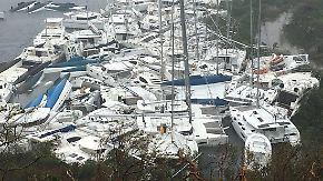 """Trümmer und Tote in der Karibik: """"Irma"""" wütet weiter Richtung Florida"""