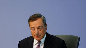 EZB-Chef Draghi sendet zuletzt hoffnungsvolle Signale, was die Konjunktur in der Eurozone angeht.