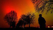 Starke Sonneneruptionen: Mit viel Glück sieht man Polarlichter