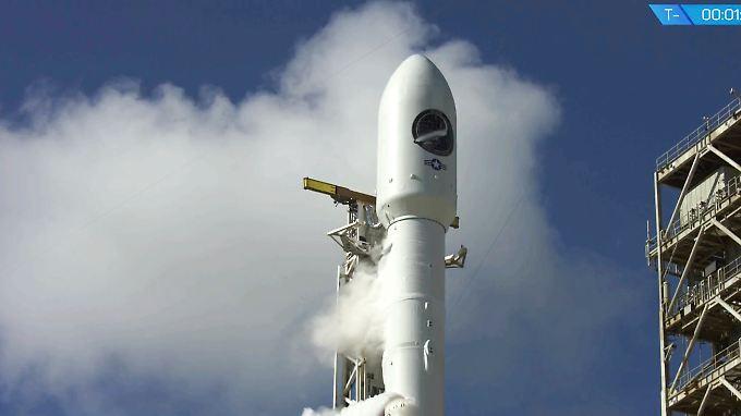 Start und Landung sind geglückt. Der Einsatzbereich der Drohne ist aber bisher unklar.