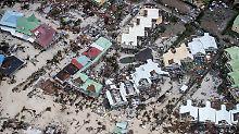 """Zahl der Toten steigt über zehn: """"Irma"""" nimmt Kurs auf Florida"""