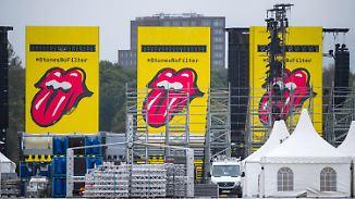 """Legenden-Sound am Bauzaun: Hamburg fiebert """"Rolling Stones""""-Konzert entgegen"""
