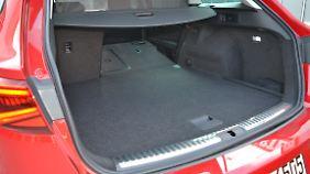 Mit 482 Litern ist der Kofferraum des Seat Leon ST TGI knapp 100 Liter kleiner als bei den monovalenten Versionen.