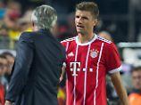 """""""Taktisch versiert, ein bodenständiger Junge."""" Das sagt Carlo Ancelotti über Thomas Müller."""