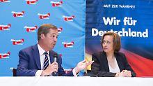 Der Tag: Brexit-Initiator motiviert AfD zum Widerstand gegen EU