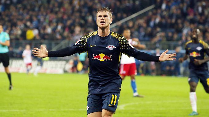 Für Timo Werner war es der dritte Treffer im dritten Spiel.
