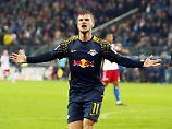 Werner trifft schon wieder: Leipzig verhindert Hamburgs Tabellenführung