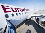 Air Berliner halten den Atem an: Ufo schließt Personal-Deal mit Eurowings