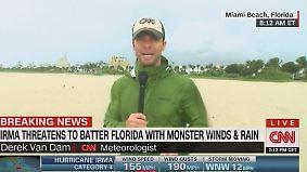 """Reporter berichtet aus Miami Beach: """"Von Stunde zu Stunde wird es schlimmer"""""""