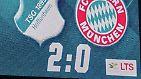 Was Uth meint? Nun, vor dem 1:0 hatten die Hoffenheimer dank eines pfiffigen Balljungen einen Einwurf besonders schnell ausgeführt und damit die Bayern überrascht.