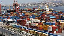 Blick auf den Hafen von Izmir.