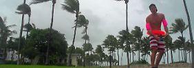 """Beschwörungen, Pistolen, Surfbretter: Floridianer begegnen """"Irma"""" mit tödlichem Leichtsinn"""
