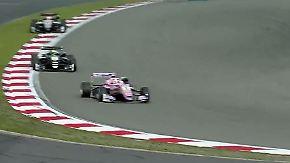 17-Jähriger Engländer kurz vor Titel: Max Günther findet bei Formel 3 keinen Grip