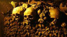 Mystische Unterwelt: Gruselalarm in den Katakomben von Paris