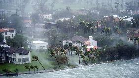 """""""Irma"""" verwüstet Florida: Augenzeugen dokumentieren zerstörerische Kraft"""