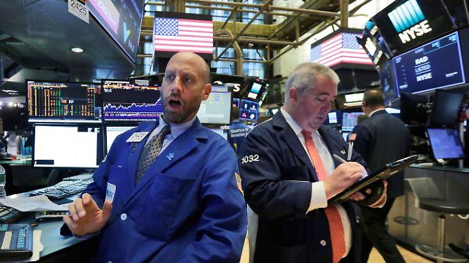 """""""Erleichterungsrally"""" an der Wall Street: Wirbelsturm """"Irma"""" verliert an Kraft."""