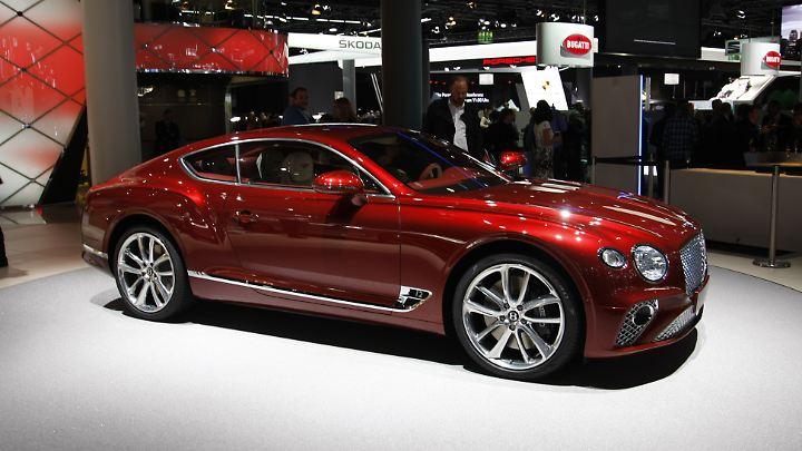 Der neue Bentley Continental auf Basis des Porsche Panamera.