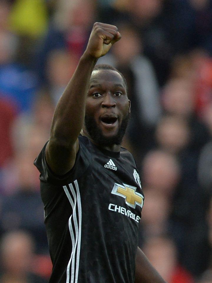 Trifft für Manchester United: Romelu Lukaku.