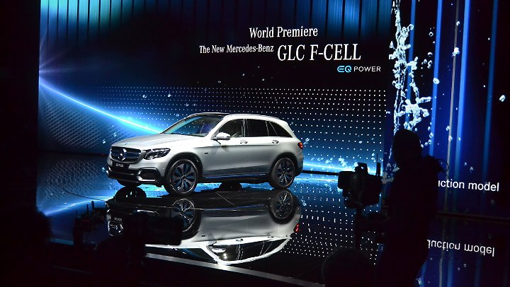 Der GLC F-Cell kombiniert eine bekannte und eine neue Technik.
