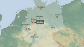 In den schweren Unfall auf der A2 Richtung Dortmund war auch ein Reisebus verwickelt.