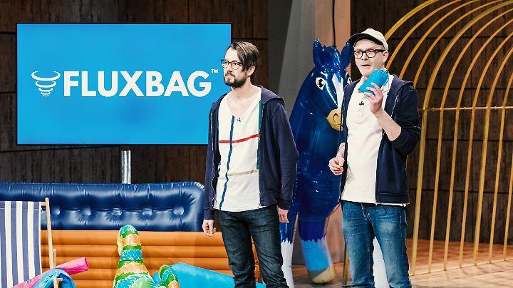 """""""Fluxbag"""": fluxen statt blasen."""