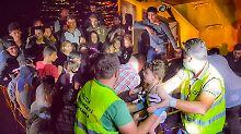 Flüchtlingsroute Schwarzes Meer: 150 Menschen vor Rumäniens Küste gerettet