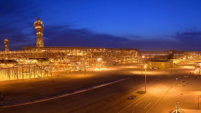 Hawiyah Gaskraftwerk von Aramco