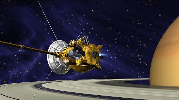 """Die Raumsonde """"Cassini"""" ist nach dem französischen Astronomen Giovanni Domenico Cassini (1625-1712) benannt."""