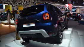Beim Heck hat Dacia Anleihen bei Jeep genommen.