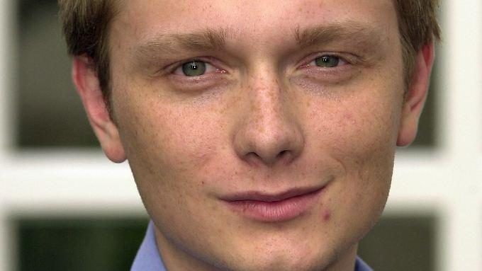 Da war er schon 21 Jahre alt: Christian Lindner zog im Mai 2000 als jüngster Abgeordneter in den Landtag von NRW ein.