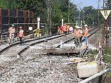 Baupanne bei Baden-Baden: Rheintalstrecke früher frei als geplant