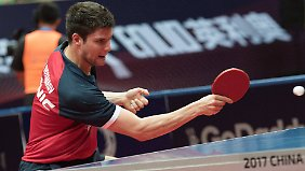 Dimitrij Ovtcharov siegte ohne Satzverlust.
