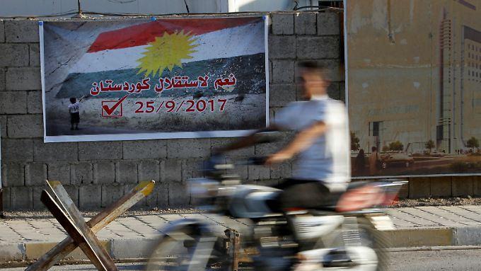 Am 25. September wollen die Kurden im Irak über ihre Unabhängigkeit abstimmen.